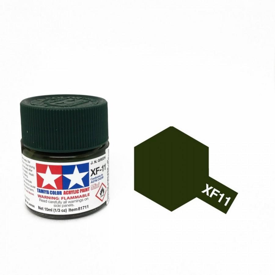 Vert aéron japonais mat pot de 10ml-TAMIYA XF11