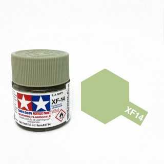 Gris aviation japonaise mat pot de 10ml-TAMIYA XF14