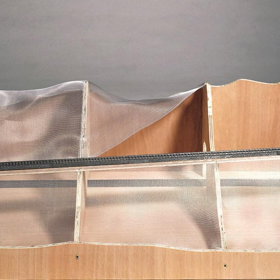 Grillage aluminium pour constitution de décor -HO-1/87-NOCH 60990