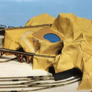 Rouleau de papier crêpe pour décor -HO-1/87-NOCH 60840