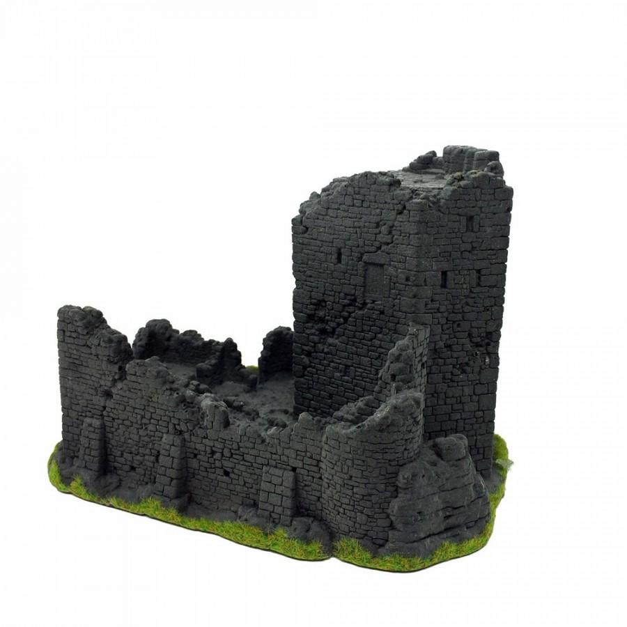Ruine de château fort pour décor -HO-1/87-NOCH 58600