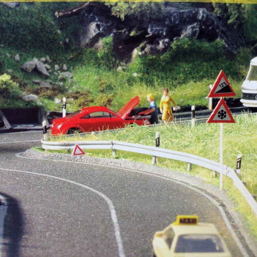 Glissière de sécurité routière -HO-1/87-NOCH 60511