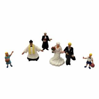 Mariage à l'église-HO-1/87-NOCH 15860