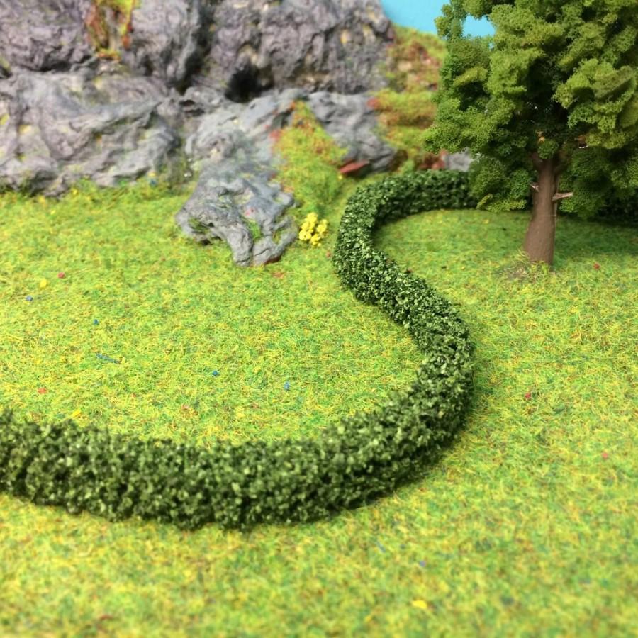 2 petites haies feuilles vertes foncées -HO-1/87-NOCH 21524