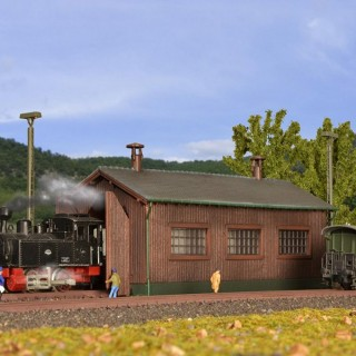 Remise pour une locomotive-N-1/160-KIBRI 37802