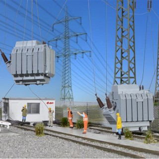 2 transformateurs-HO-1/87-KIBRI 39844