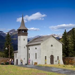 Eglise de montagne-HO-1/87-KIBRI 38813