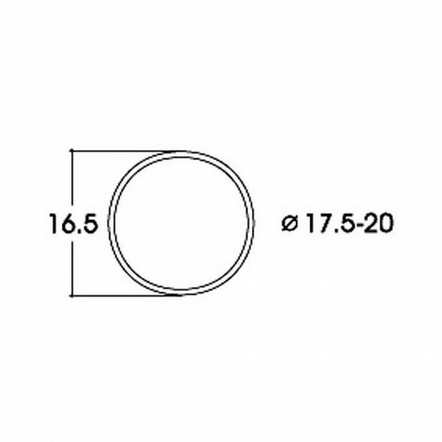 10 bandages de roue AC diamètre17.5 à 20mm-HO-1/87-ROCO 40077
