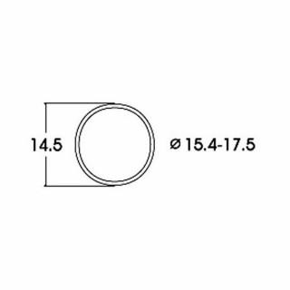 10 bandages de roue AC diamètre15.4 à 17.5mm-HO-1/87-ROCO 40076