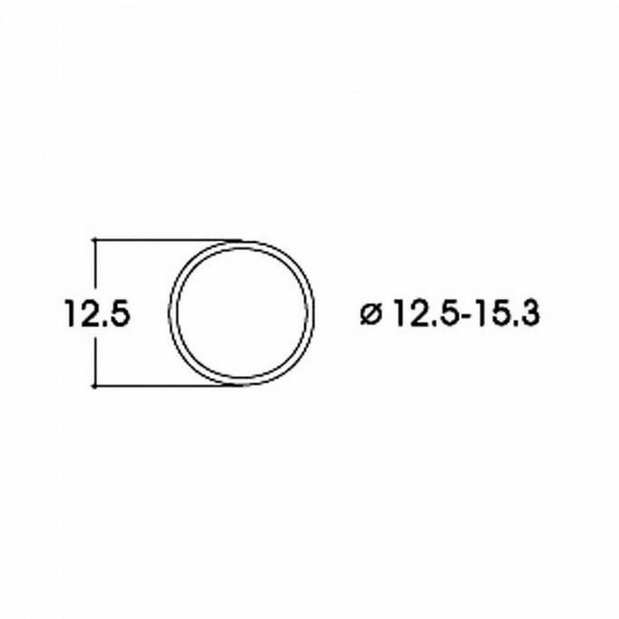 10 bandages de roue AC diamètre12.5 à 15.3mm-HO-1/87-ROCO 40075
