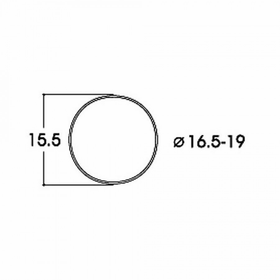 10 bandages de roue AC  diamètre16.6 à 19mm-HO-1/87-ROCO 40072