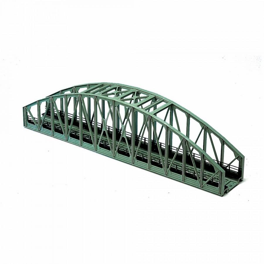 Pont droit une voie type métallique-HO-1/87-ROCO 40081