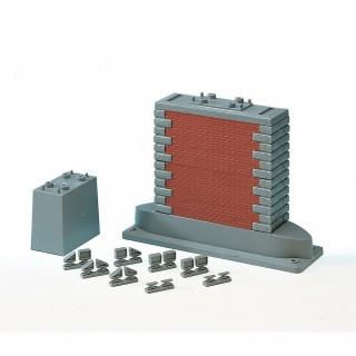 Jeu de piliers  pour pont-HO-1/87-ROCO 40082