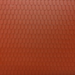 Plaque toit tuiles terre cuite arrondies -HO-1/87-AUHAGEN 52416