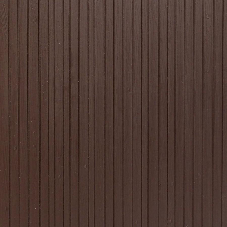 Plaque plancher ou bardage de bois marron -HO-1/87-AUHAGEN 52420
