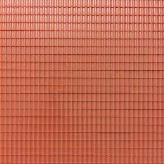 Plaque de toit type tuiles mécaniques -HO-1/87-AUHAGEN 52425
