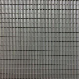 Plaque de toit type tuiles mécaniques grises -HO-1/87-AUHAGEN 52426