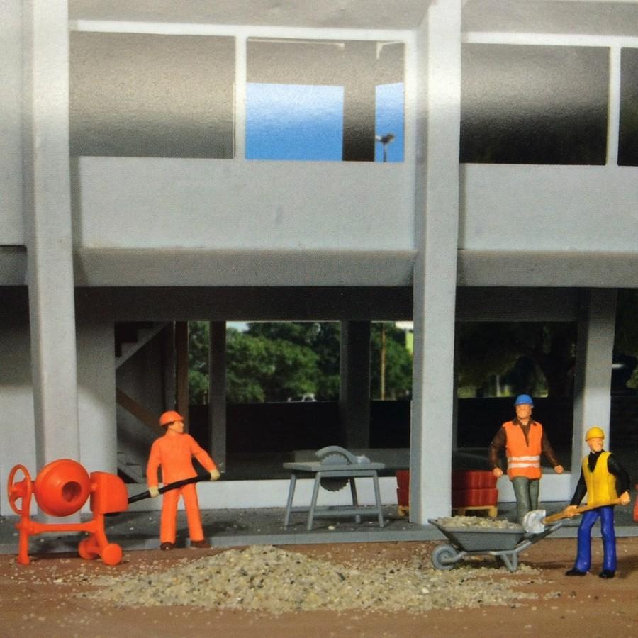 Set pour travaux public et chantier-HO-1/87-KIBRI 38140