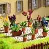 9 pots de fleurs déco-HO-1/87-NOCH 14012