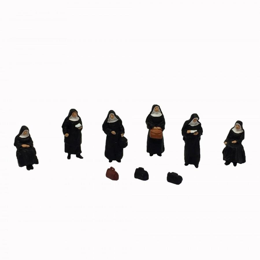 6 soeurs-HO-1/87-PREISER 10402