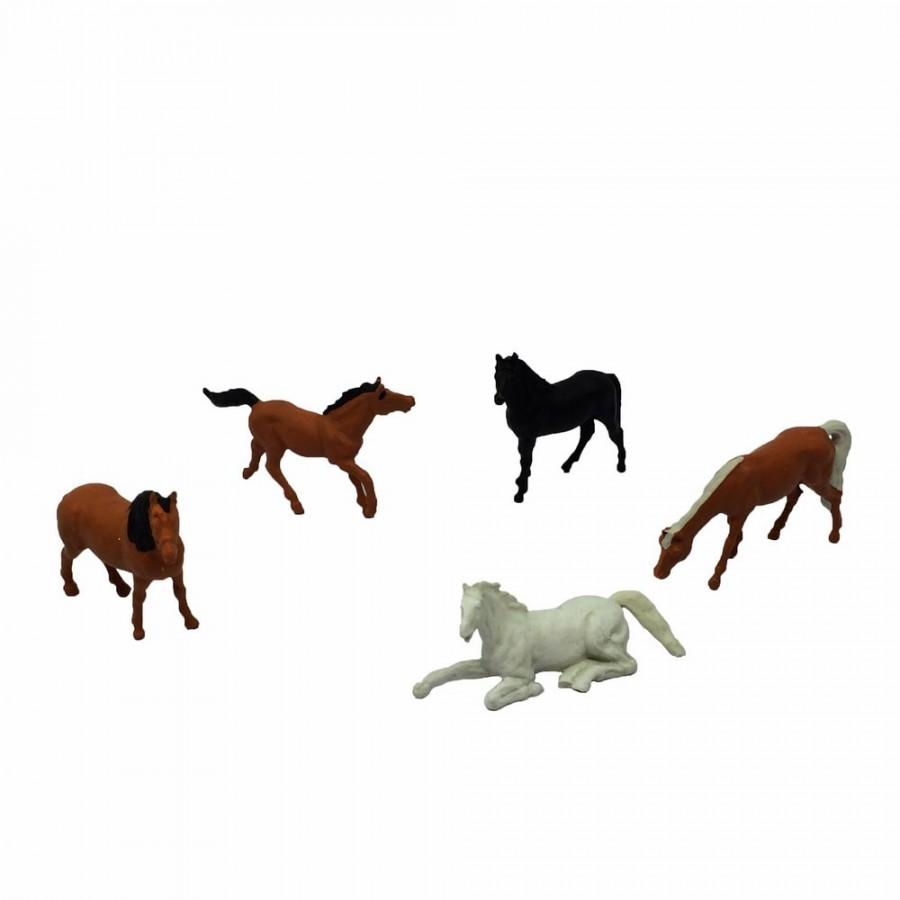 5 chevaux-HO-1/87-PREISER 14150