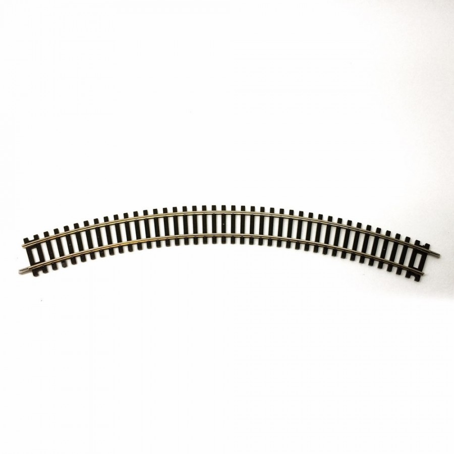 Double rail courbe R1 -HO-1/87-HORNBY (Jouef) R605