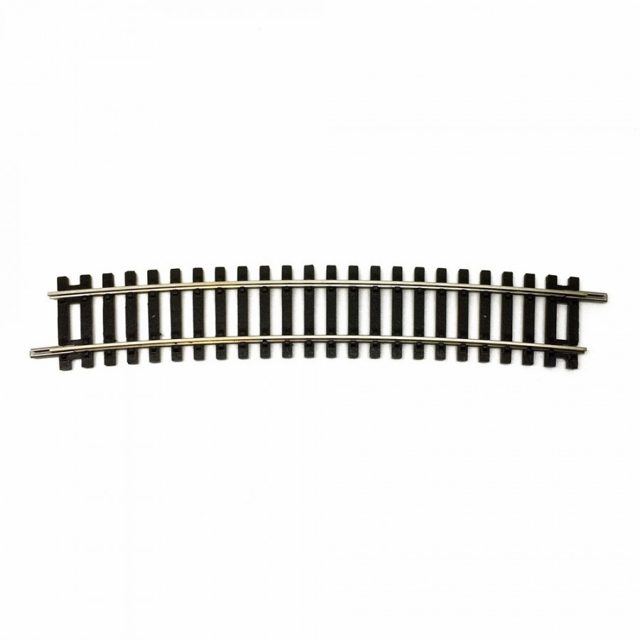 Rail petite courbe R3 -HO-1/87-HORNBY (Jouef) R608
