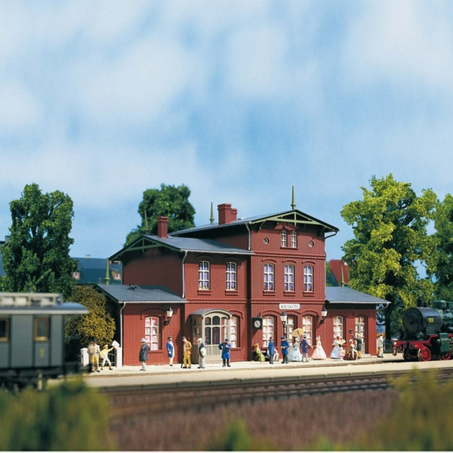 Gare de village en briques-N-1/160-AUHAGEN 14467