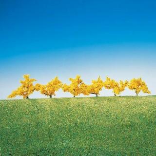 6 forsythias à fleurs jaunes-HO-1/87-FALLER 181475