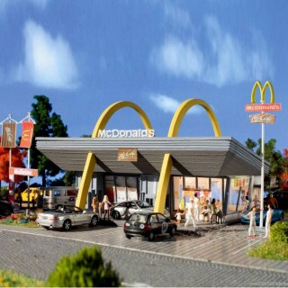 Restaurant MC Donald -HO-1/87-VOLLMER 43634