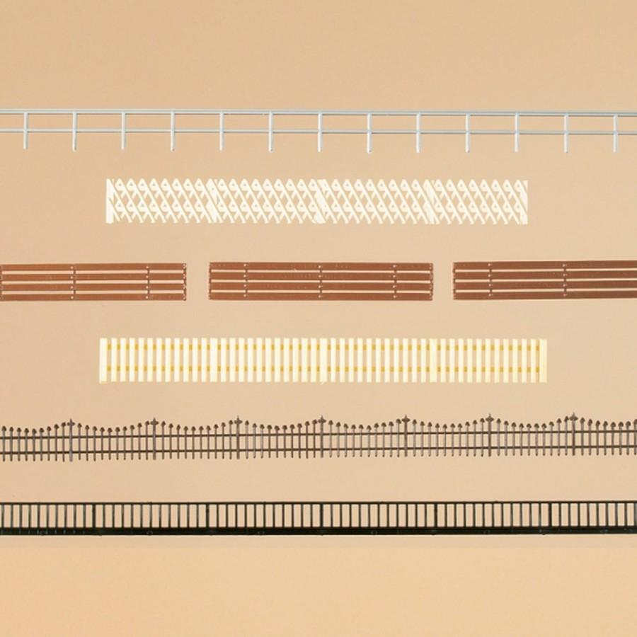 Set de barrières environ 6,10ml 6 modèles-HO-1/87-AUHAGEN  12260