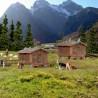 2 cabanes de montagne avec barrières-N-1/160-KIBRI 37028
