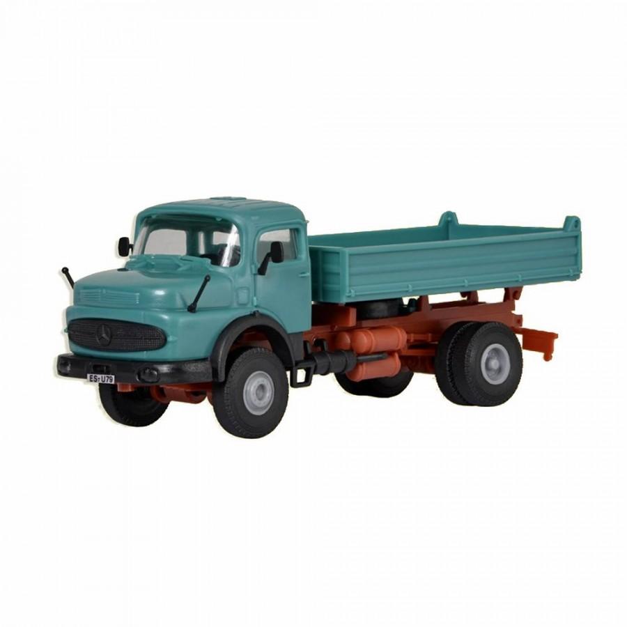 Camion benne MB Mercedes -HO-1/87-KIBRI 14030