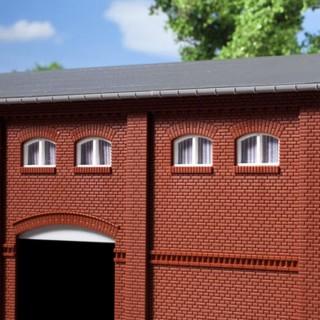 20 petites fenêtres blanches pour maquette-HO-1/87-AUHAGEN  80214