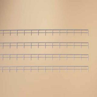 1,66ml de barrières grise pour pont et autre-HO-1/87-AUHAGEN 42655