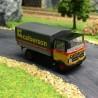 Camion Mercedes benz LP 608 calberson Lyon-HO-1/87-BREKINA 48525