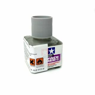 Apprêt liquide teinté gris flacon de 40ml-TAMIYA 87075