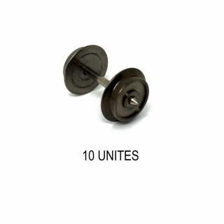 10 essieux non isolés pour système 3 rails -HO-1/87-FLEISCHMANN 6560