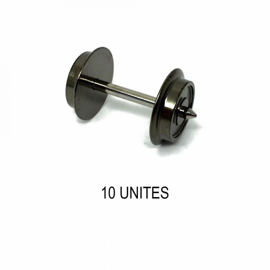 10 essieux non isolés pour système 3 rails -HO-1/87-FLEISCHMANN 6561