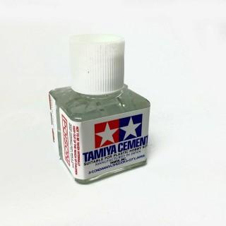 Colle avec pinceau pour maquette plastique 40ml-TAMIYA 87003