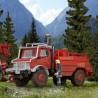 Camion de pompier Unimog Mercedes  -HO-1/87-KIBRI 18270