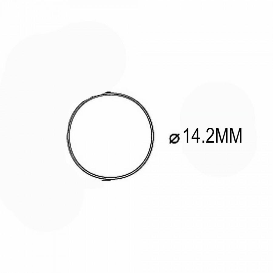 10 bandages de roue  diamètre 14.20mm -HO-1/87-PIKO 56024