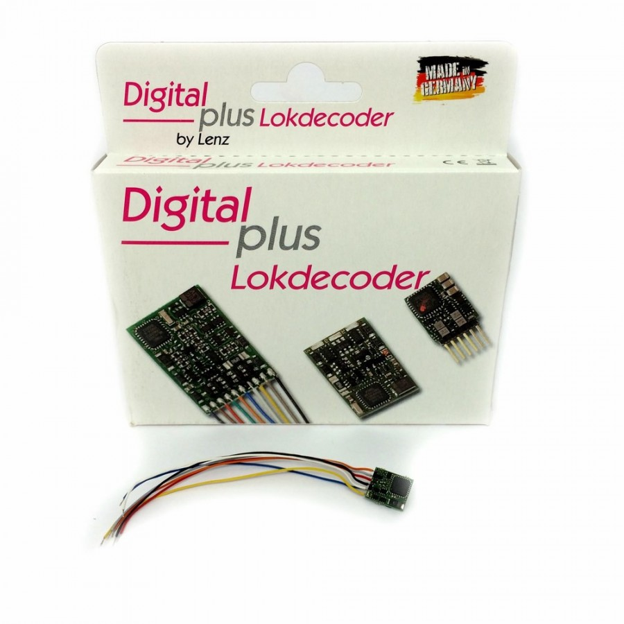 Décodeur digital Silver Gold mini+ 6 cables à souder-N-1/160-LENZ- 10410-01