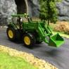 Tracteur John Deere 7280R avec godet avant -HO-1/87-Wiking 035802