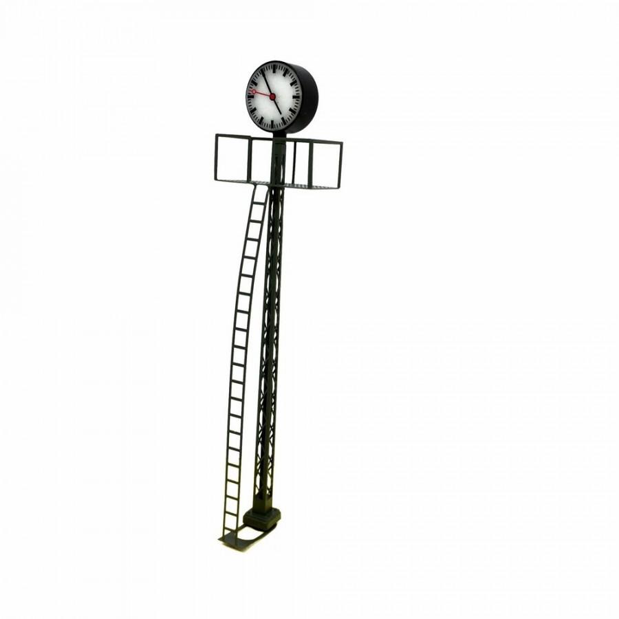 Horloge de quai de gare avec éclairage intégré -HO-1/87-VIESSMANN 5082