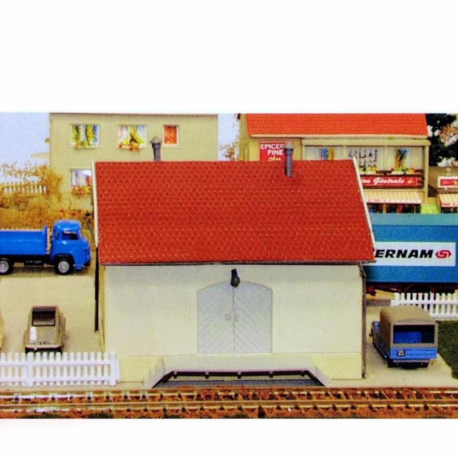 Petite hall à marchandises-HO-1/87-SAI 123