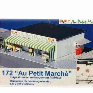 Petite épicerie de quartier -HO-1/87-SAI 172