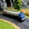 Camion semi-remorque citerne DAF DO 2000 ELF-HO-1/87-BREKINA 85225
