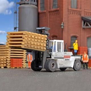Gros chariot élévateur Kalmar maquette à monter -HO-1/87-KIBRI 11750
