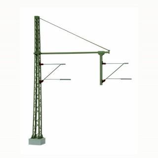 Mats de ligne double pour caténaires métal -HO-1/87-VIESSMANN 4160